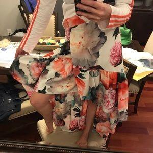 Eliza j rose high low skirt size 10